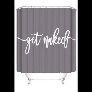 Other - ❤️ Get Naked Shower Curtain Gray Brand New